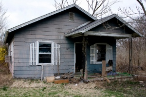 abandoned home in St Louis ken fager flickr