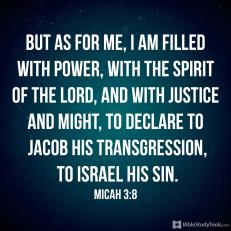 Micah 3 8